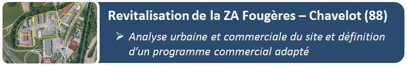 Revitalisation de la ZA Fougères