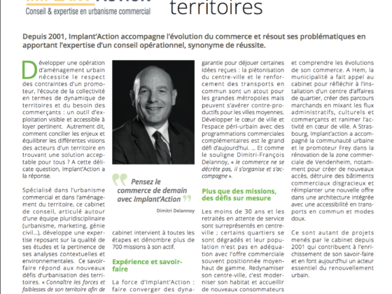 Implant'Action article Gazette des Communes