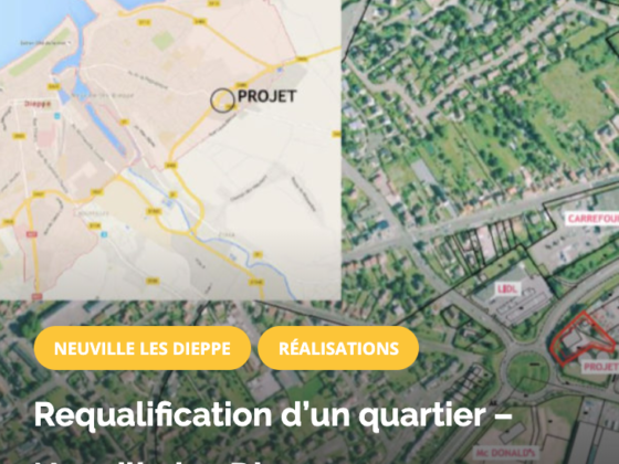 Requalification d'un quartier – Neuville les Dieppe OPTIMIMPACT