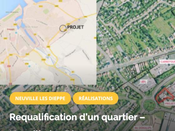 Requalification d'un quartier – Neuville les Dieppe OPTIMIMPACT